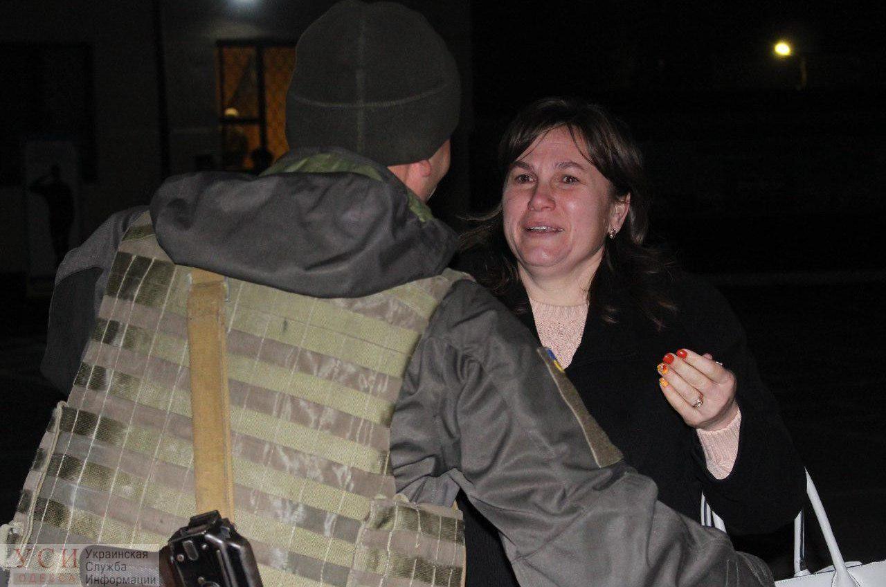 В Одессу с фронта вернулись нацгвардейцы (фото) «фото»