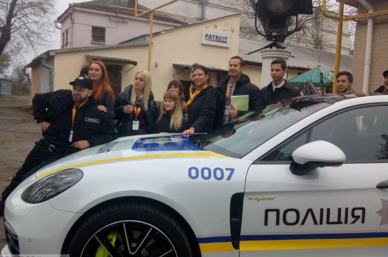 В Одессе заметили полицейский «Porsche»: оказалось, что это реквизит для фильма (фото) «фото»