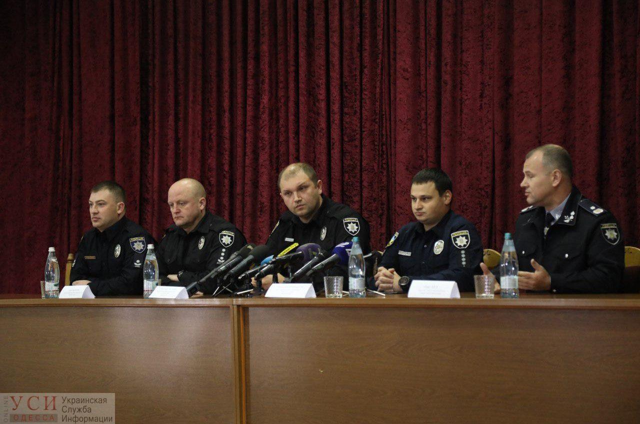 Одесским патрульным представили нового начальника-фронтовика Александра Гостищева (фото) «фото»