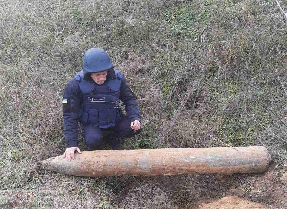В Одесской области нашли опасный «подарок от «Ванюши» (фото, видео) «фото»