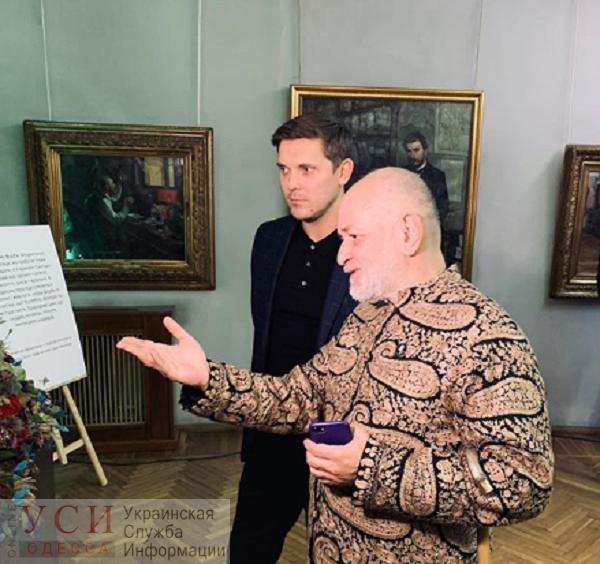 Одесскому худмузею передали сертификат на установку видеонаблюдения (фото) «фото»
