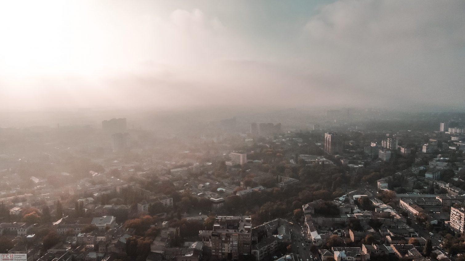 На Одессу опустится туман и похолодает «фото»