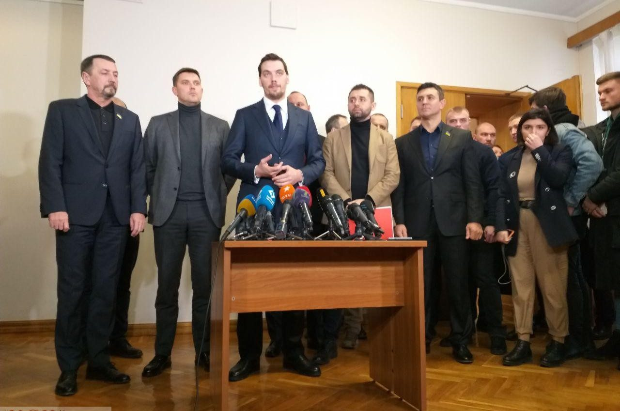 Пресс-брифинг премьер-министра Украины по трагическому пожару на Троицкой (прямая трансляция) «фото»