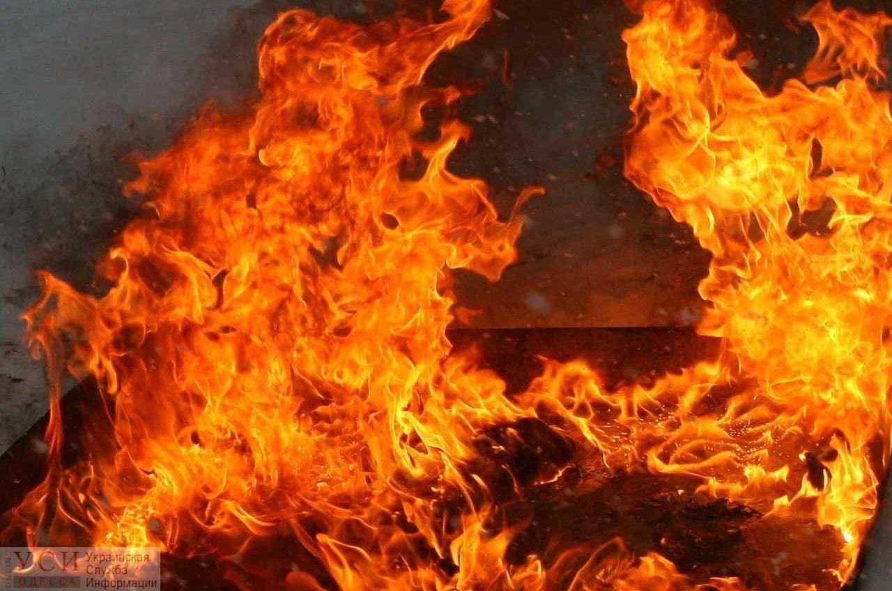 На пожаре в Белгород-Днестровском районе погиб мужчина «фото»