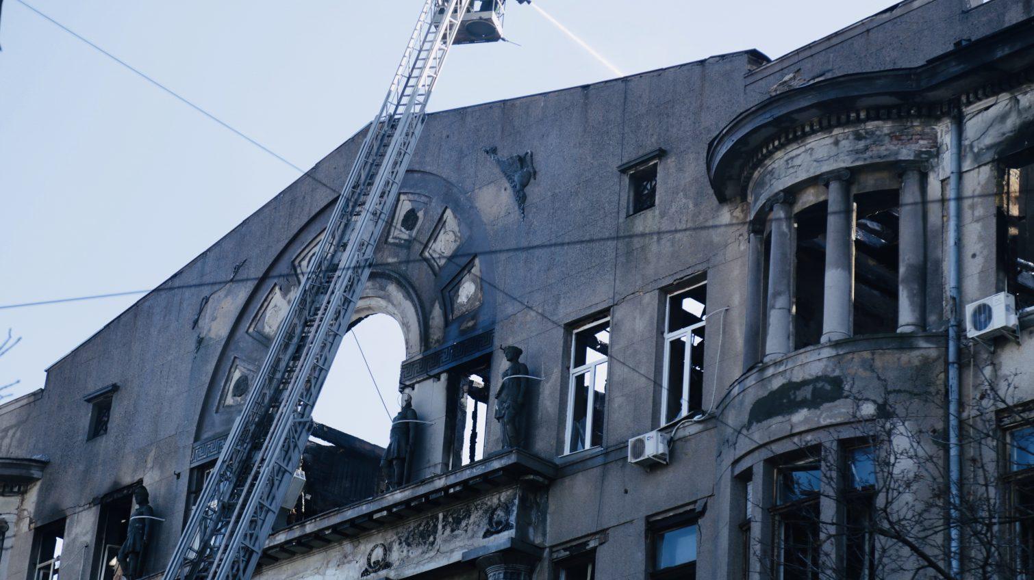 Пожар на Троицкой: пропавшими числятся 14 человек, — Нацполиция «фото»