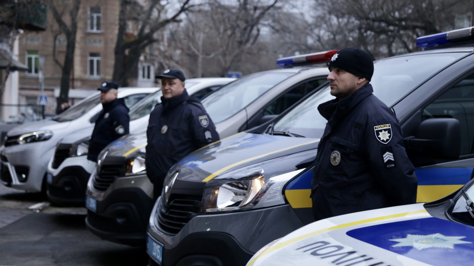 Одесские полицейские получили 15 автомобилей и технику из Киева, а также от одесских областного и городского советов (фото) «фото»