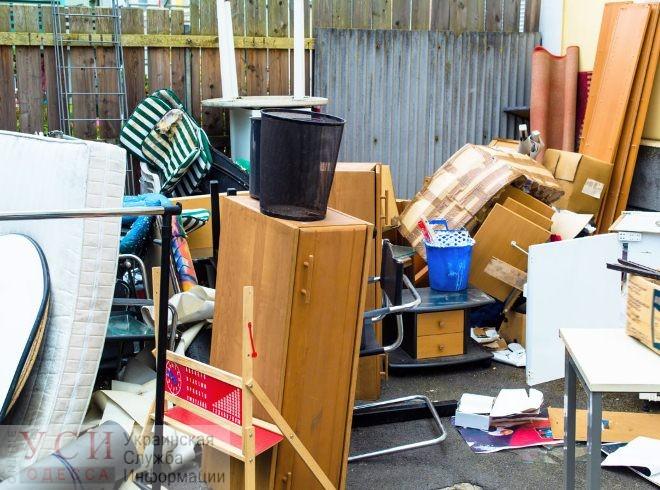 С февраля 2020 года по Одессе появятся места для сбора габаритного бытового мусора «фото»