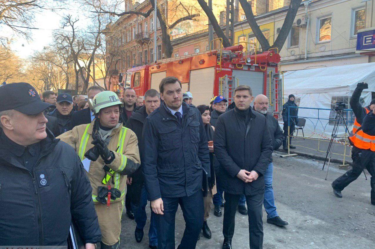 На Троицкую на место пожара приехал премьер Гончарук (фото, видео) ОБНОВЛЕНО «фото»