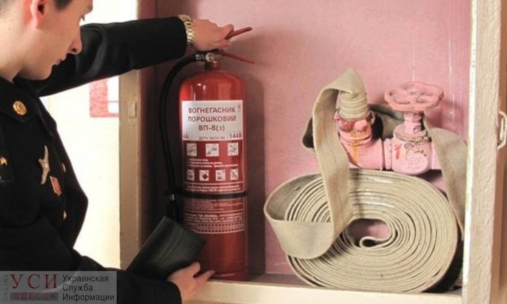В одесской областной детской больнице рассчитывают выполнить все работы по пожарной безопасности до конца года «фото»