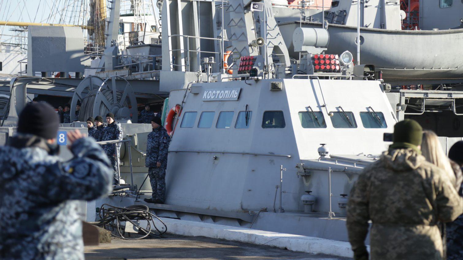 В Одессе представили седьмой военный катер, который войдет в ВМСУ (фоторепортаж) «фото»