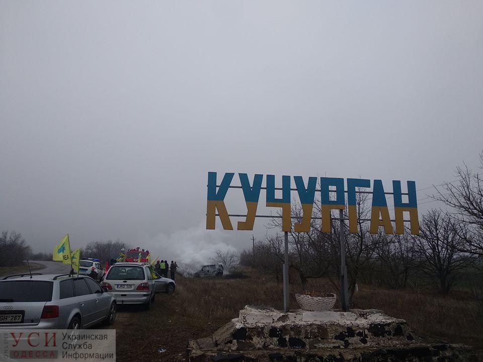 Протест «евробляхеров»: владелица сожгла свою иномарку, требуя еще одну отсрочку у власти (фото, видео) «фото»