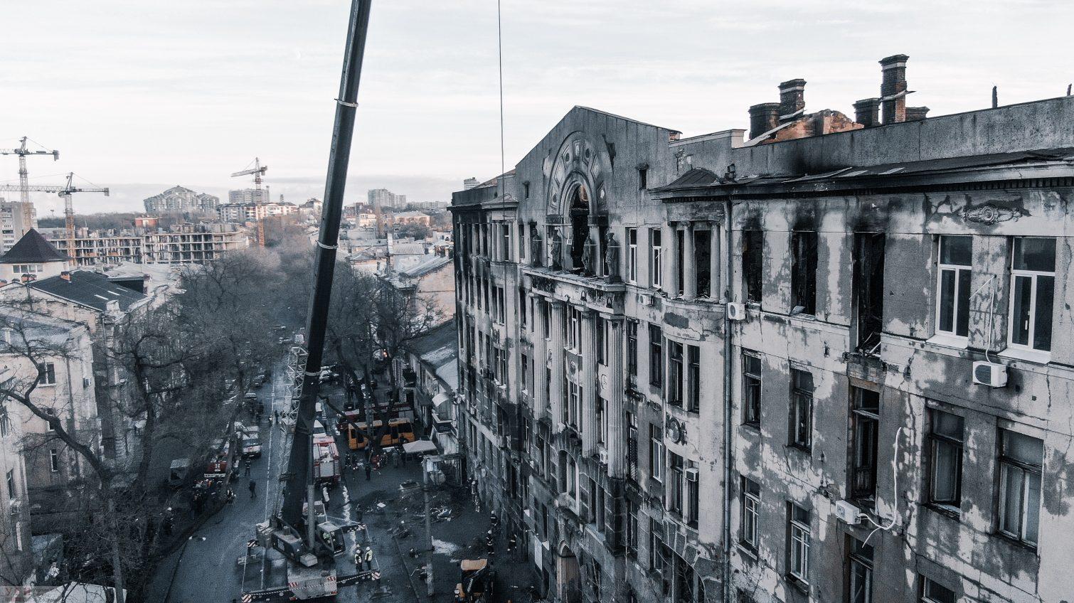 В Одессе часть Троицкой снова перекрыта: ведутся следственные действия «фото»
