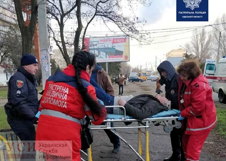 У мужчины случился инфаркт посреди улицы на поселке Котовского (фото) «фото»