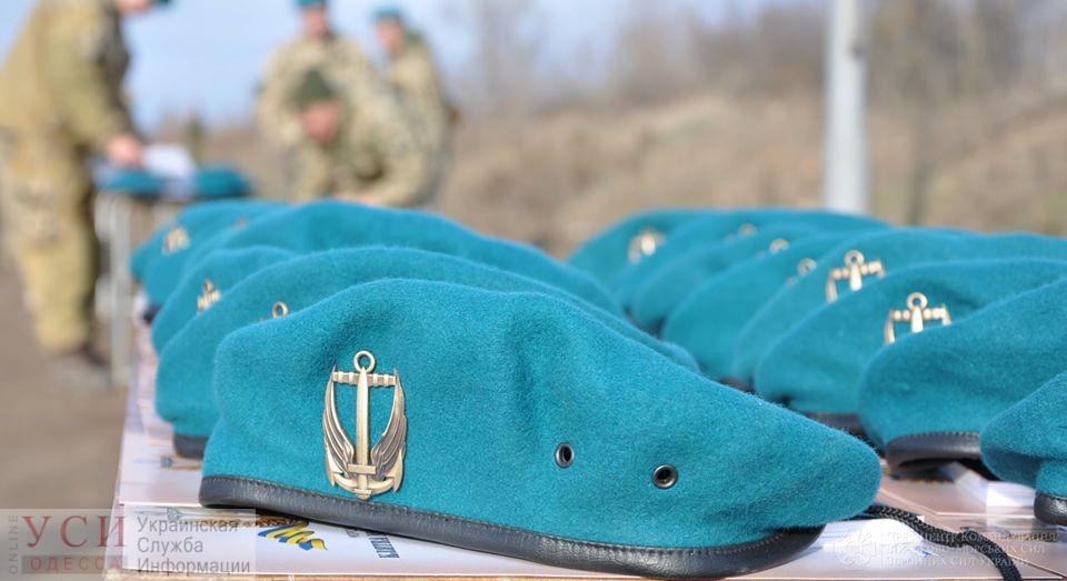 Ряды «голубых беретов» ВМС Украины пополнила сотня новобранцев из Одессы (фото) «фото»