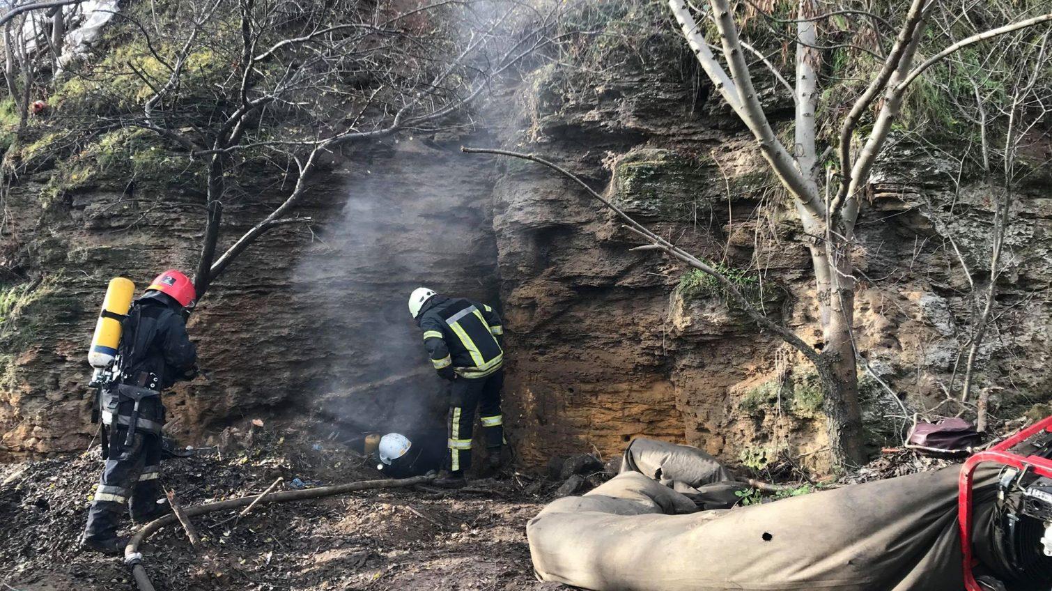 В районе пляжа «Аркадия» после пожара нашли труп (фото) «фото»