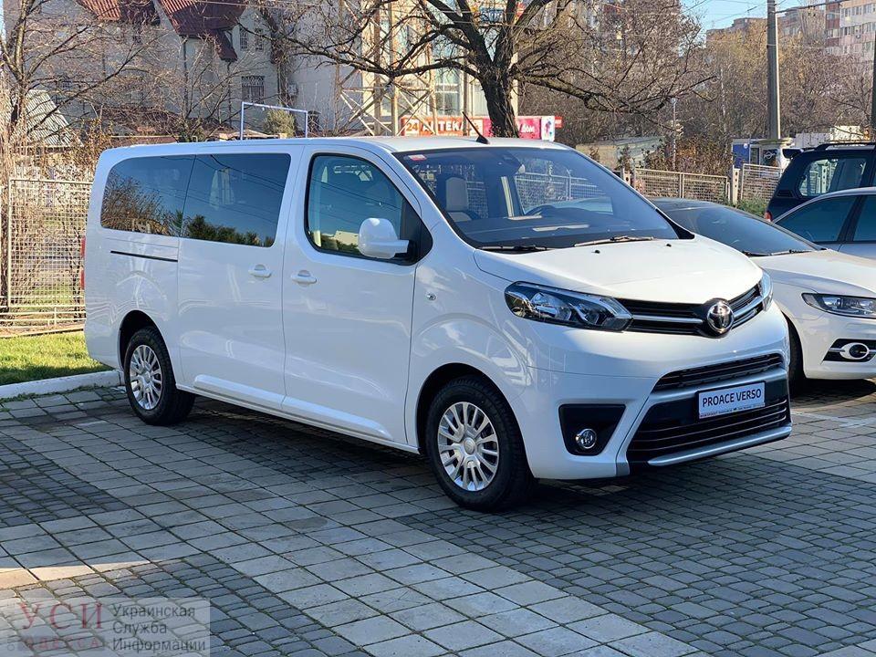 Одесская поликлиника купила микроавтобус для «особых детей» (фото) «фото»