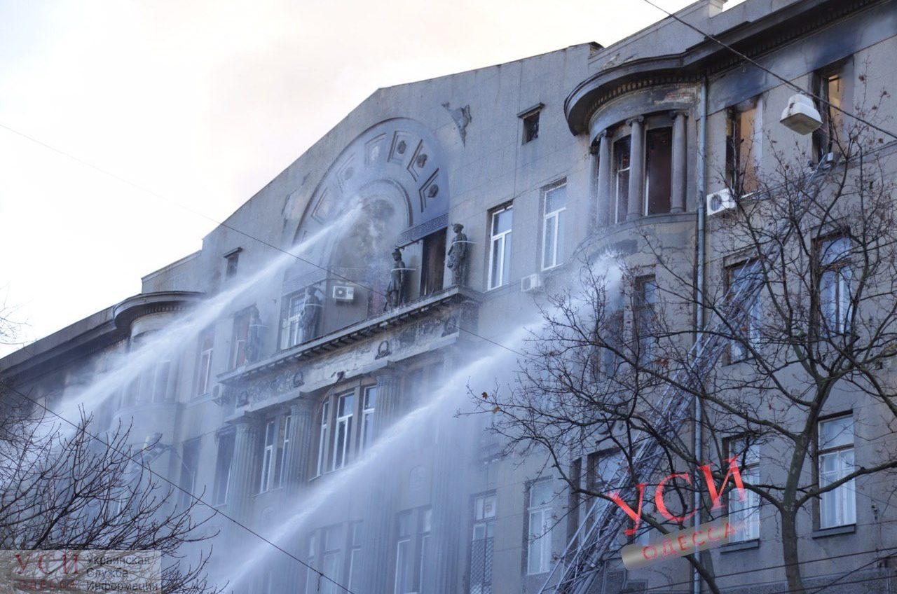 На пожаре в Одесском колледже экономики умерла 17-летняя студентка, погибшую перепутали с преподавателем при опознании «фото»