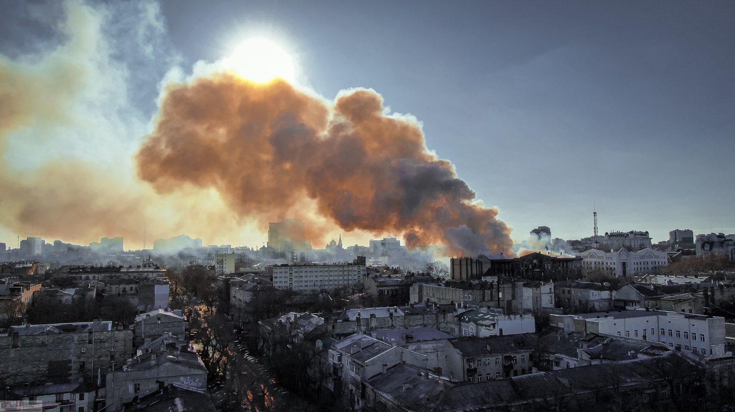 Город в огне: какие проблемы вскрыли пожары в Одессе «фото»