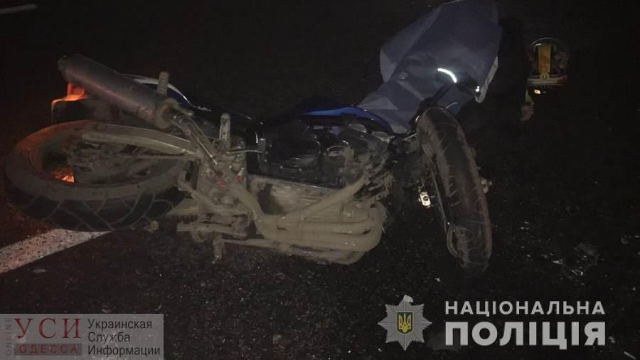 Смертельное ДТП на трассе под Одессой: погиб мотоциклист (фото) «фото»