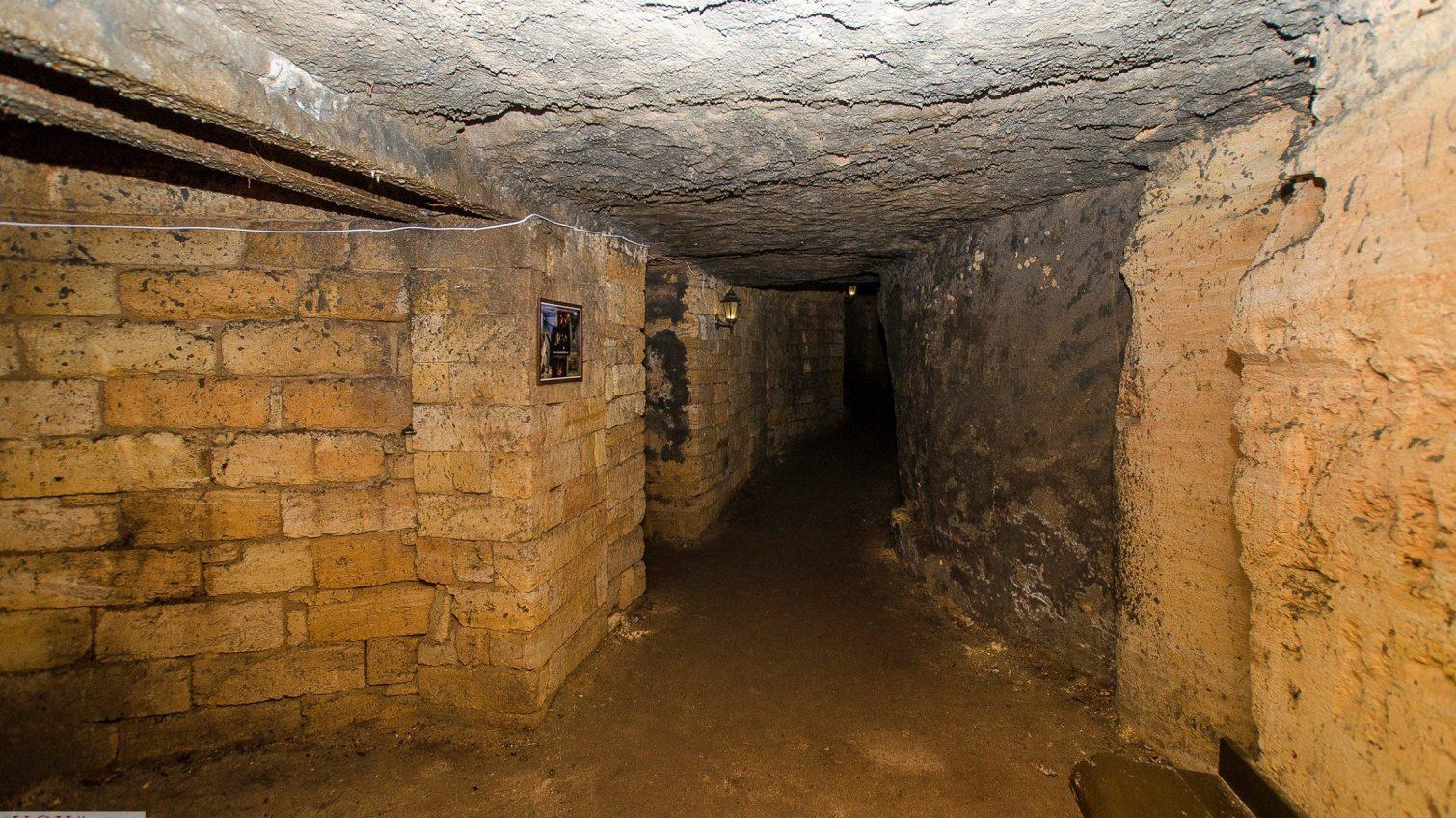 В Одессе на музей в катакомбах потратят больше миллиона «фото»
