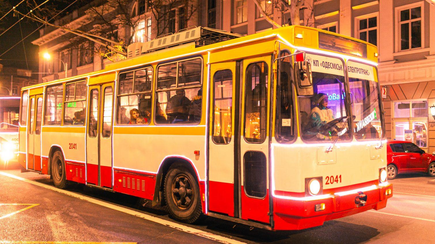 Одесситы отказались от маршруток в пользу электротранспорта (инфографика) «фото»