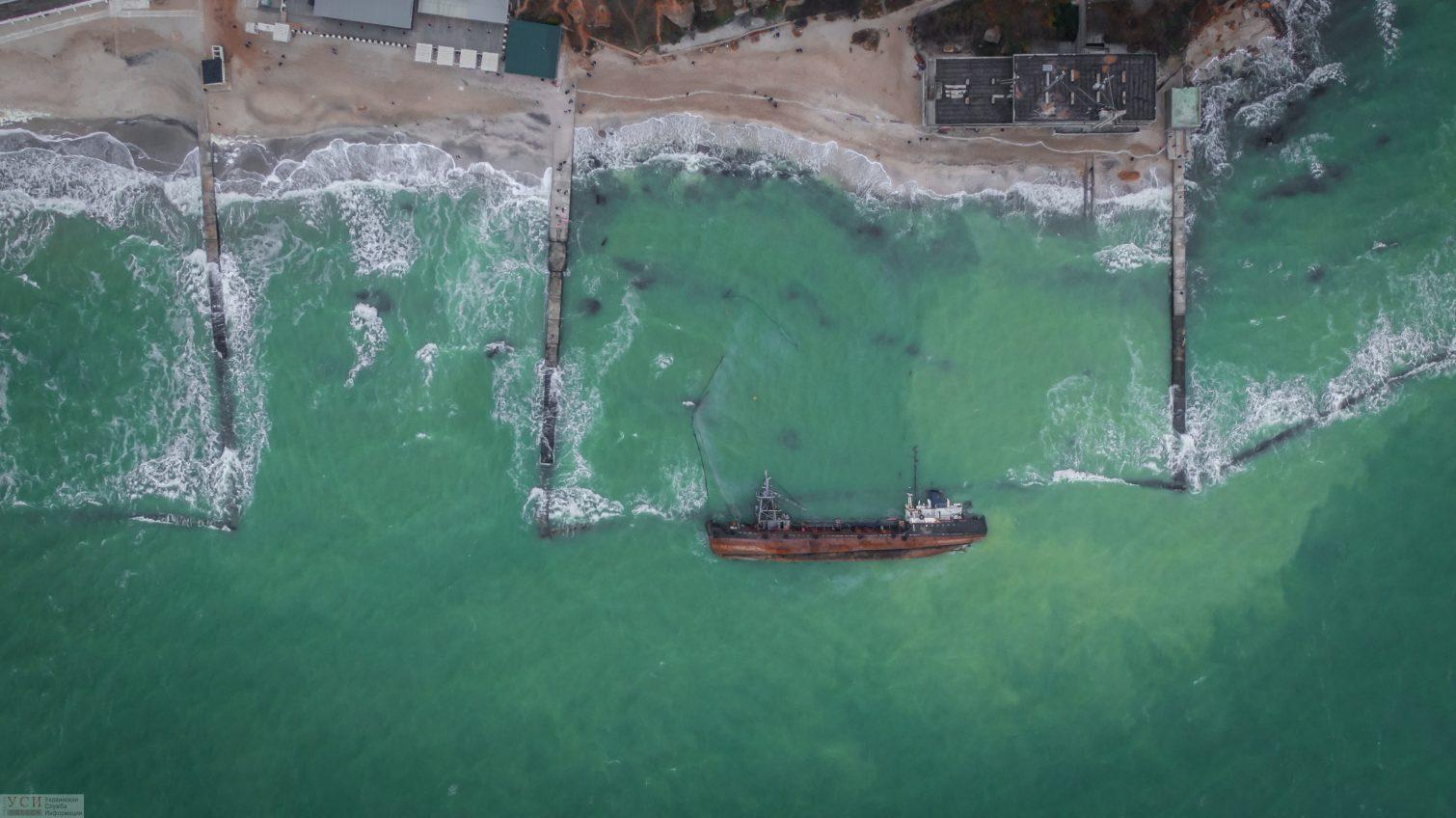 Владелец танкера Delfi нашелся и обещает убрать затонувшее судно до середины декабря «фото»