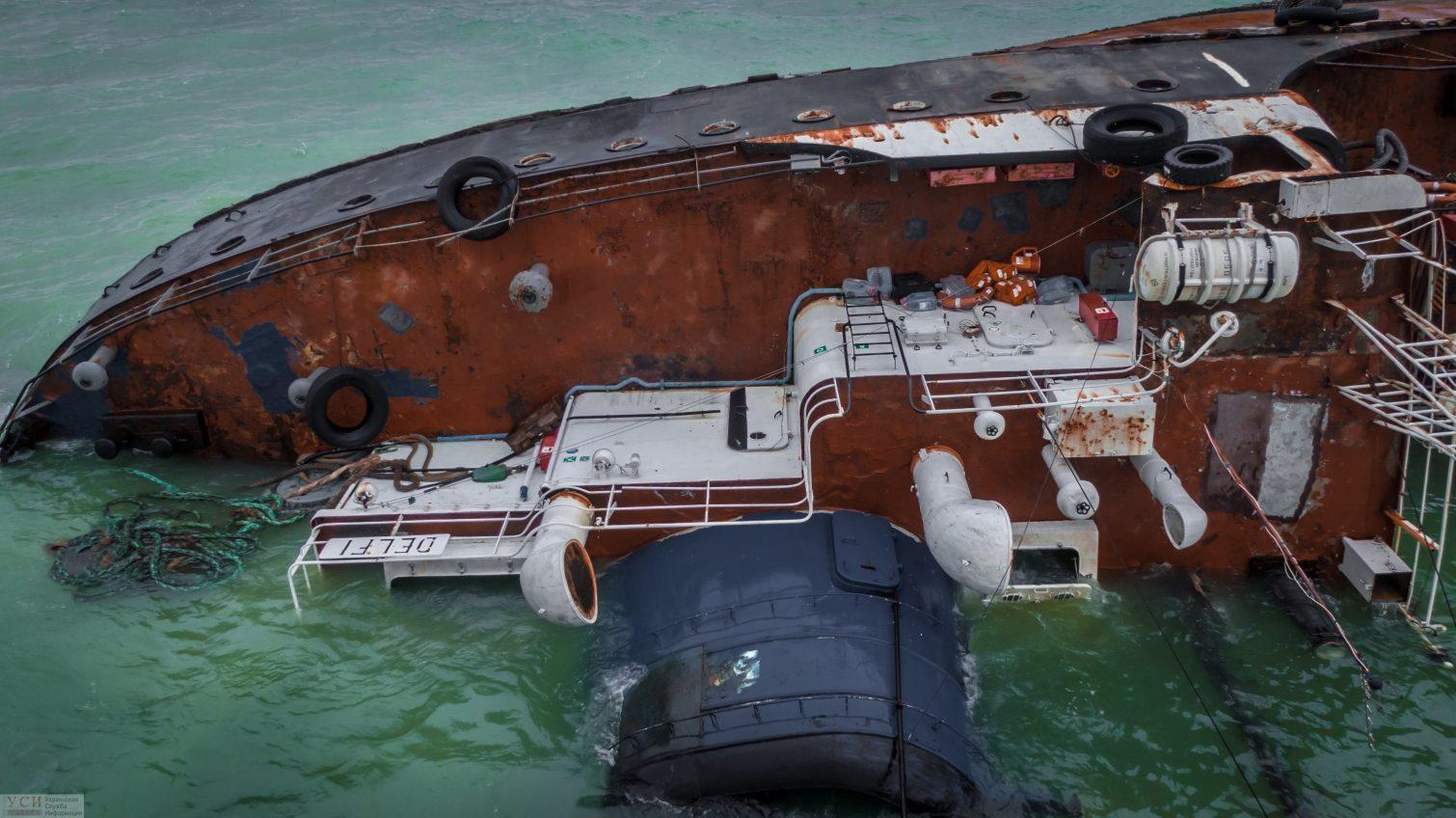 Нефтью по воде: станет ли эвакуация Delfi экологической катастрофой (фото) «фото»