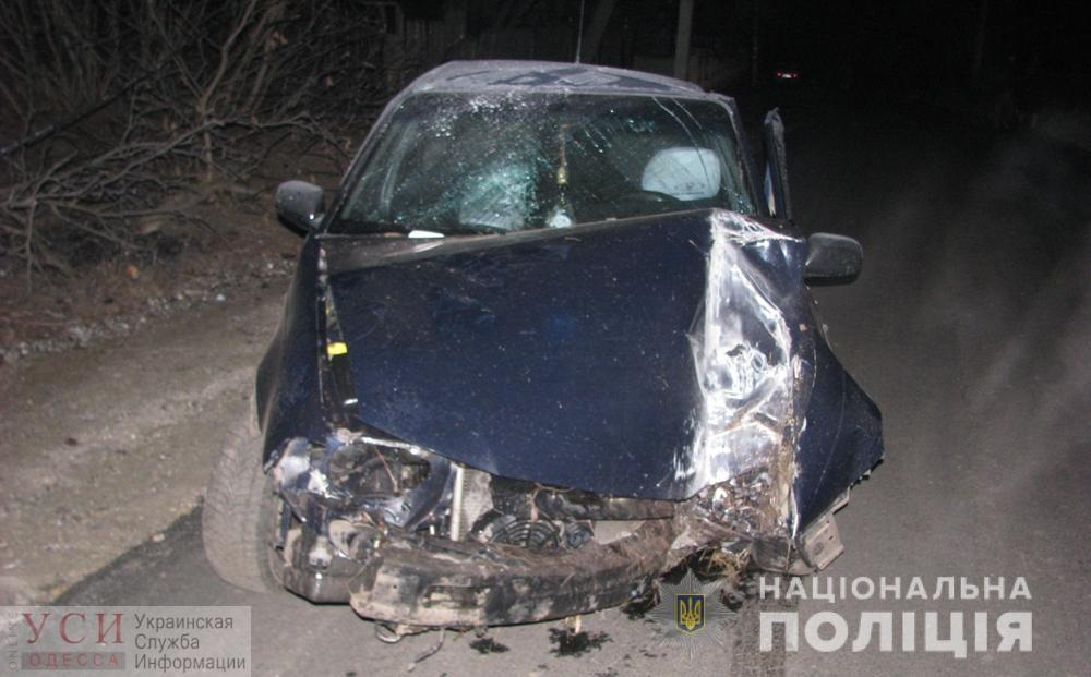 ДТП в Одесской области: пассажир с травмами головы, водитель был пьян (фото) «фото»