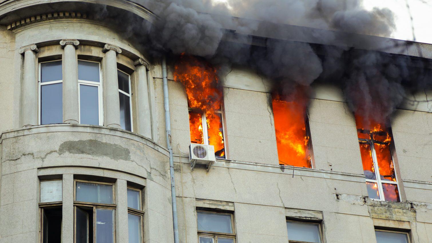 В Одессе объявили траур из-за пожара в здании колледжа (документ) «фото»