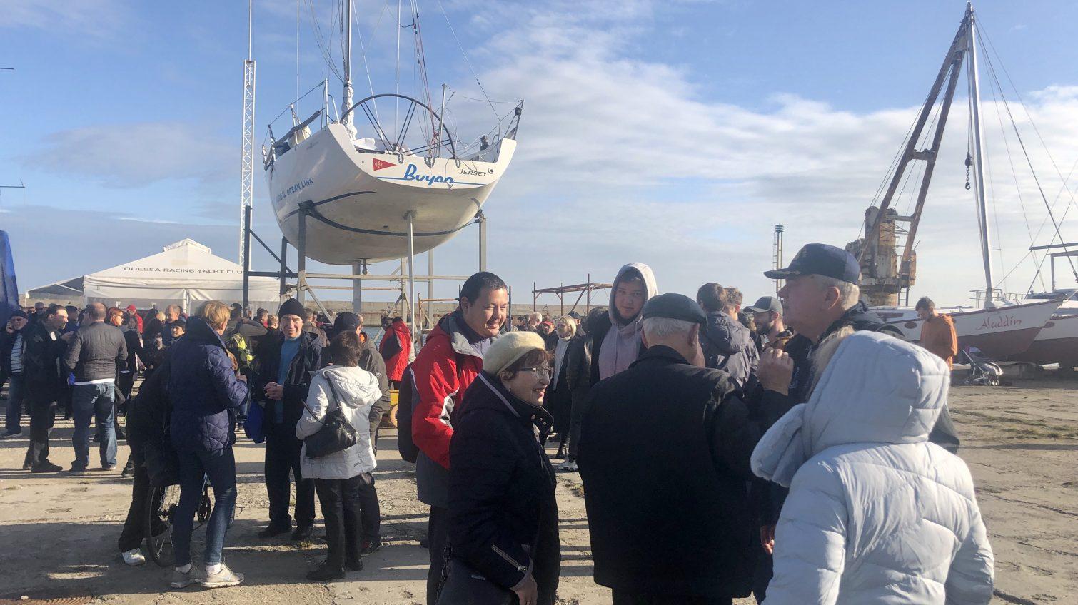 Одесситы опасаются застройки на месте яхт-клуба (фото) «фото»