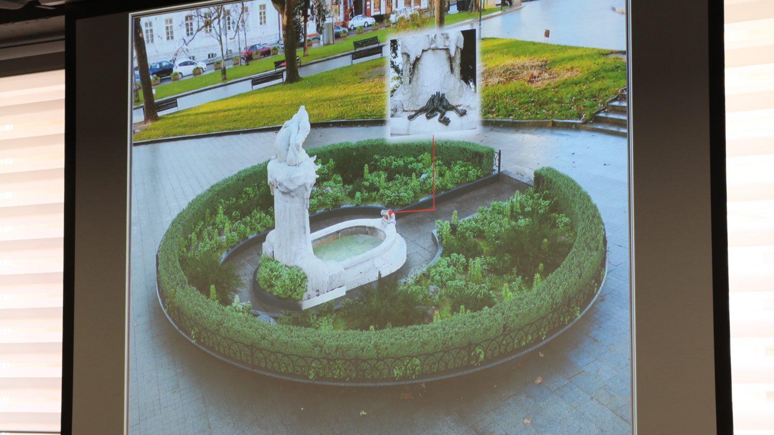 Новая жизнь: в Одессе скульптуру-фонтан «Дети и лягушка» украсят тремя лягушками и живой изгородью (фото) «фото»