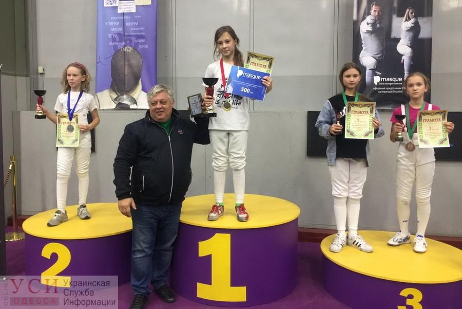 10-летняя одесская фехтовальщица победила 116 раз подряд «фото»