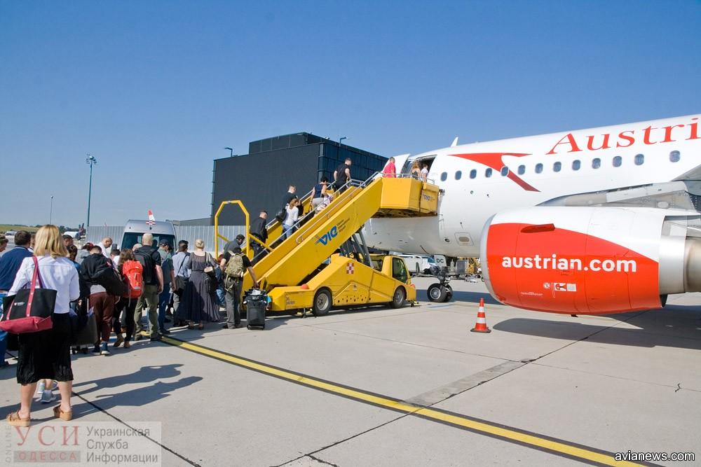 Австрийская авиакомпания вводит проездной на рейсы в Одессу «фото»