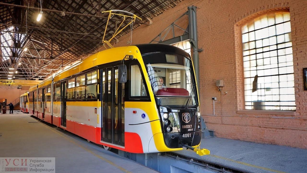 В Одессе рассчитывают выпустить пять новых трамваев и четыре электробуса «фото»