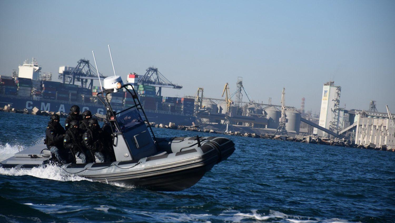 Одесская морская охрана получила новые скоростные катера (фото) «фото»