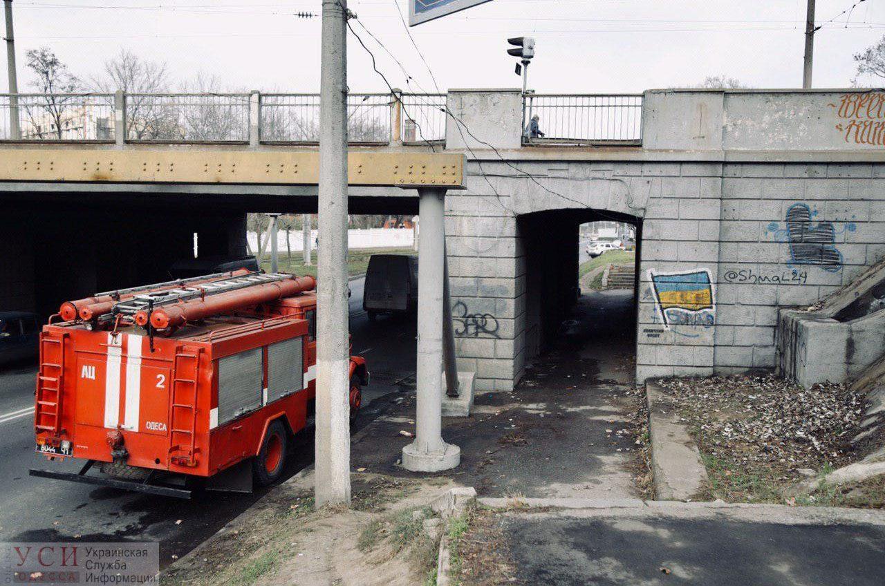 Часть Одессы оказалась обесточена из-за пожара в помещениях «Укрзалiзницi» на станции «Чумка» (фото) «фото»