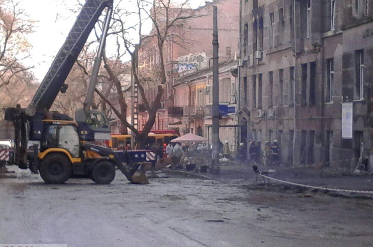 В Одессе БТИ временно не принимает документы из-за пожара на Троицкой «фото»