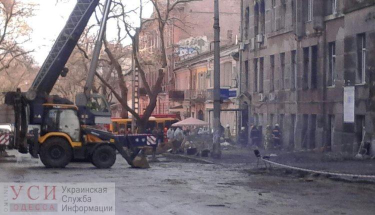 Одесское БТИ из сгоревшего здания на Троицкой переедет на Пушкинскую «фото»