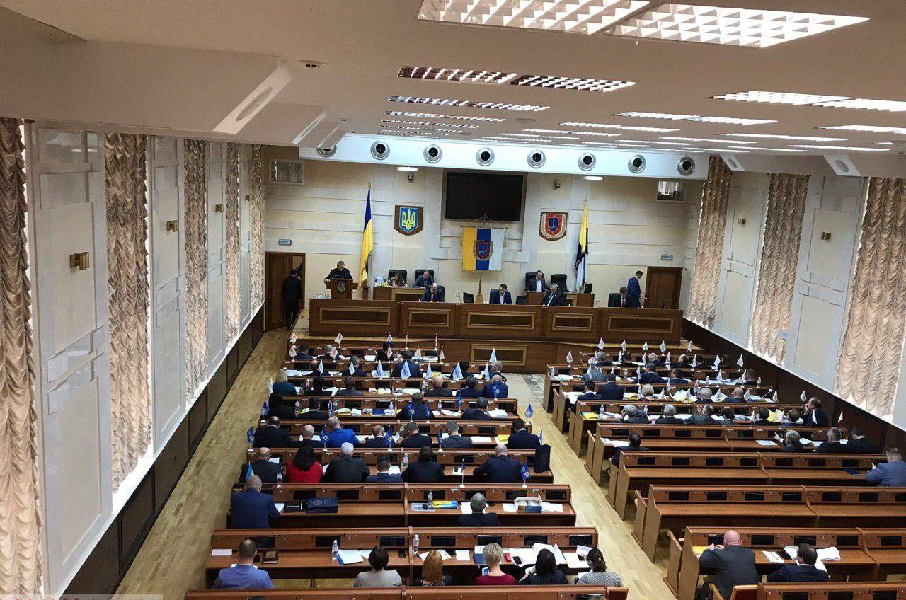 В Одесском облсовете слушают отчет о пожаре в колледже на Троицкой (прямая трансляция) «фото»