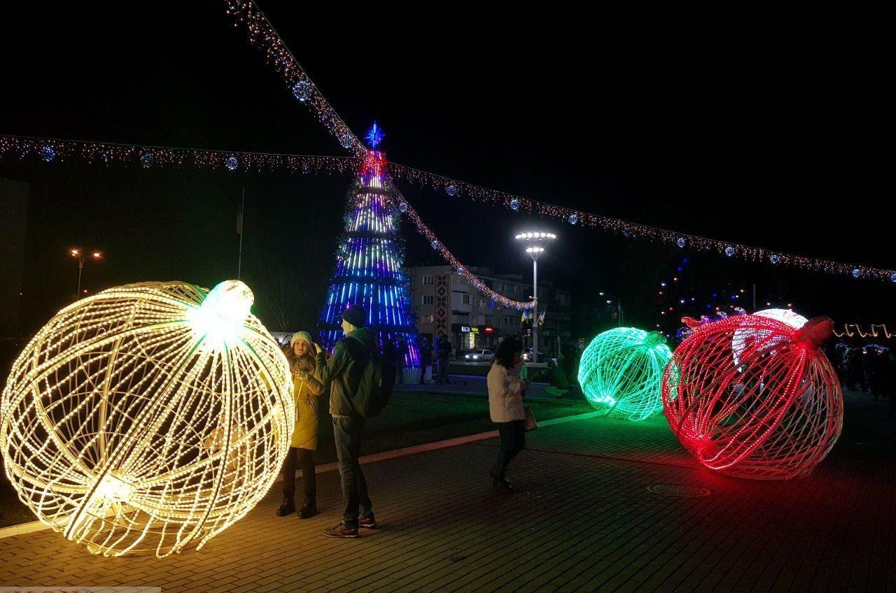Топ новогодних елок Одесской области «фото»