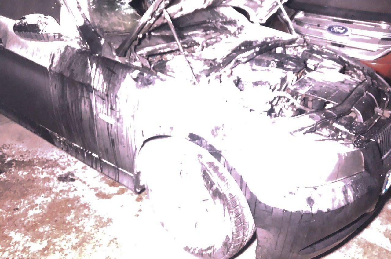 В автосалоне на Балковской загорелся автомобиль (фото) «фото»