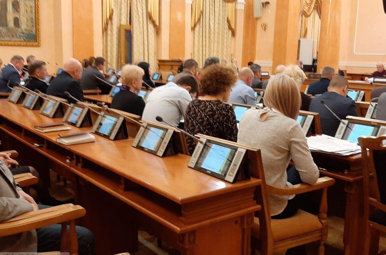 Одесским депутатам установили новую китайскую систему для голосования (фото) «фото»
