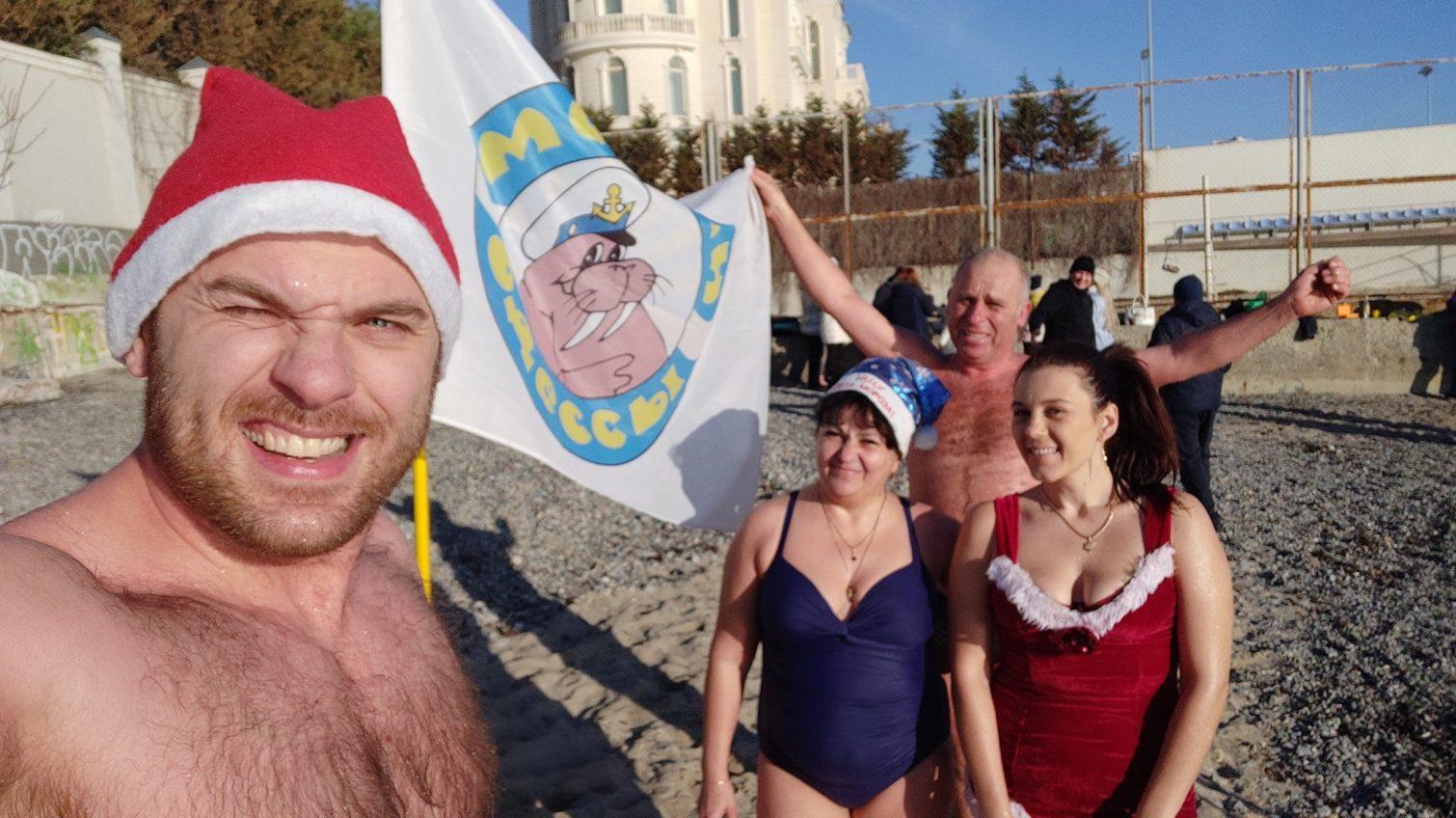 Одесские моржи открыли купальный сезон-2020 (фото) «фото»