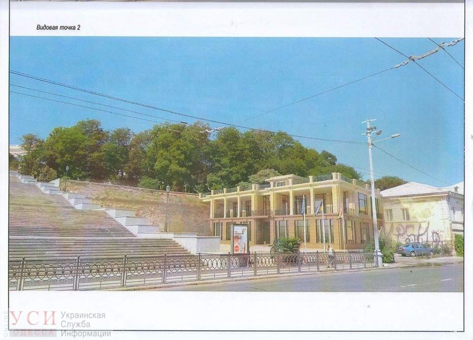 Депутатская стройка: у Потемкинской лестницы появится ТРЦ, но в мэрии пока говорят о кафе (фото, документ) «фото»