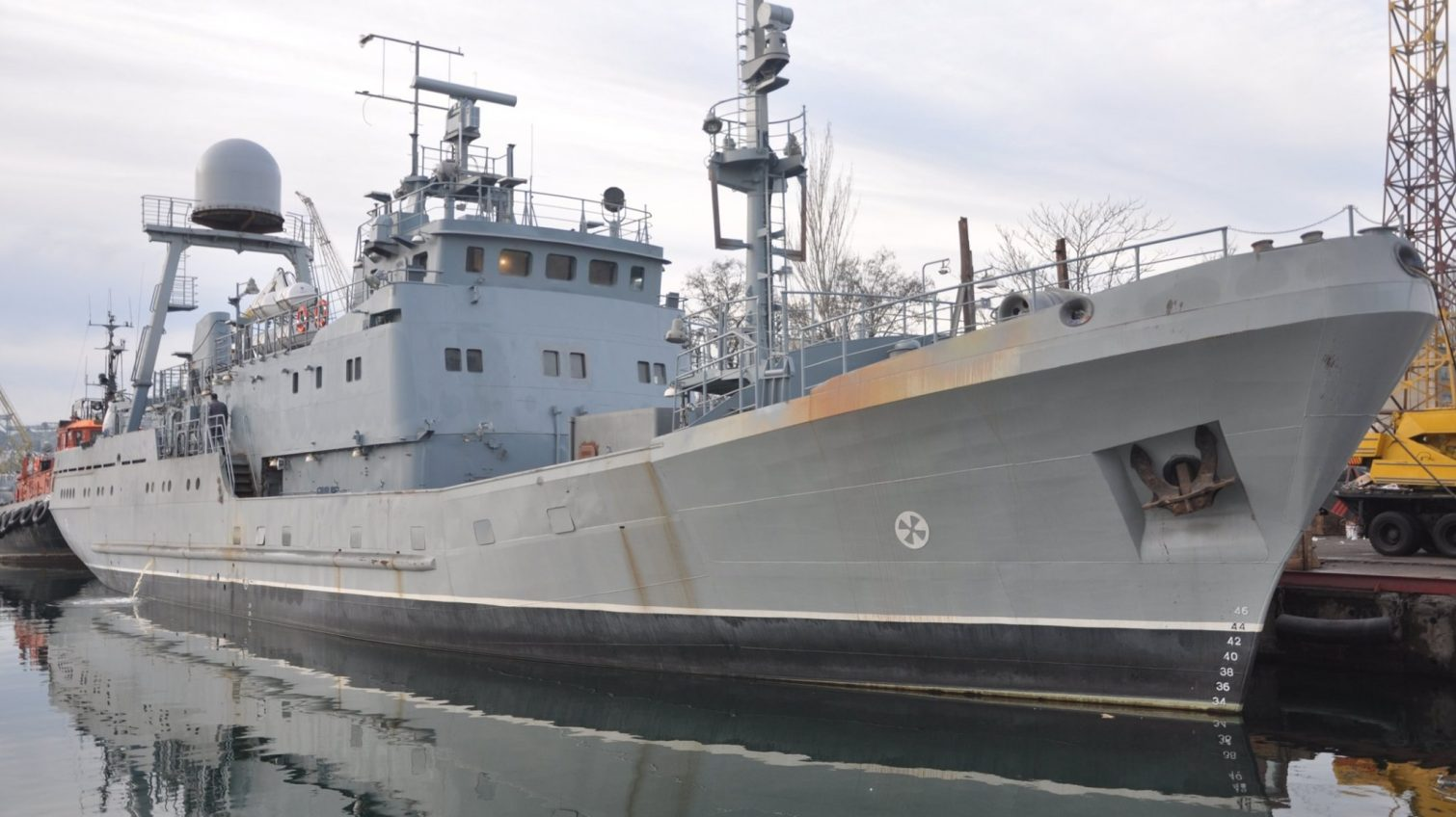 Наш флот: в Одесский залив вышел будущий корабль ВМС Украины (фото) «фото»