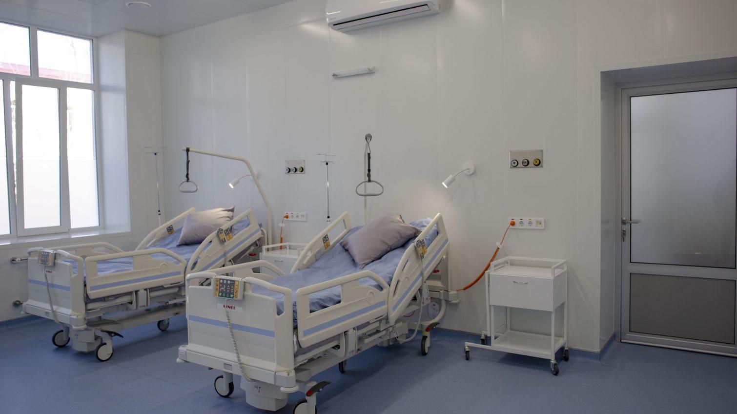 В Еврейской больнице открывают новое отделение анестезиологии и интенсивной терапии (фото) «фото»