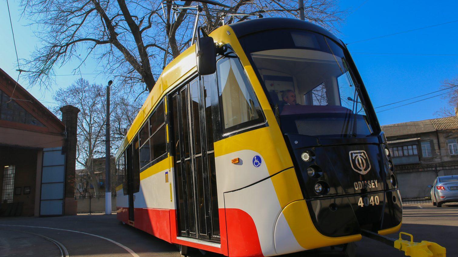 В Одессе презентовали очередной серийный трамвай Odissey (фото) «фото»
