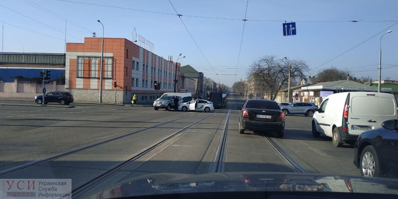 На Балковской патрульная машина попала в ДТП «фото»