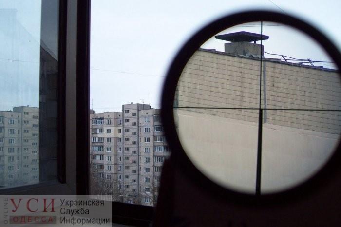 На Таирова стреляли из окна многоэтажки «фото»