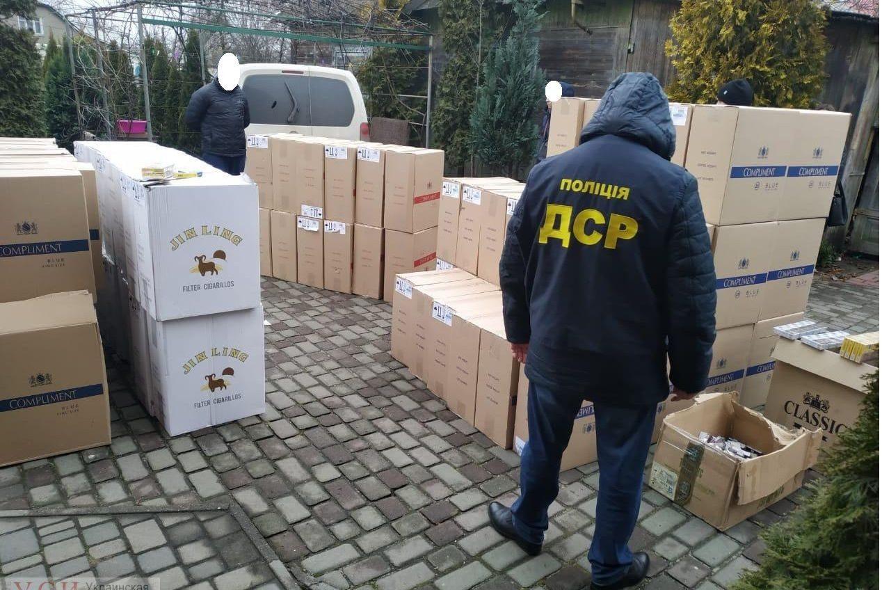 В Одесской области нашли склад сигарет из ОРДЛО (фото) «фото»